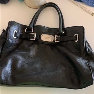 Michael Kors super soft genuine leather black bag
